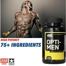 Opti-Men 240 Tablets (Whey, Casein, Amino, Protein) Opti men, Optimen