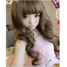 Long curve wig/ready stock/ rambut palsu