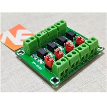 Optocoupler Board 4 Channel PC817 Module Isolated Voltage Converter Adapter