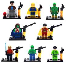 Dargo 856A-H KickAss minifigure lego compatible 8 in 1 per set toy