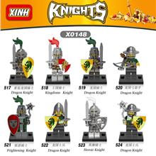X0148 X 148 X148 Medieval Knight 8 in 1 set lego compatible minifigure
