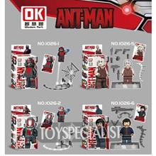 Ok1026 Lego compatible ANTMAN Series MINIFIGURE 8PCS PER SET toy