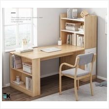Nordic Study Table Computer Desk with Book Shelf (1 month pre-order)