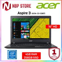 "Acer Aspire 3 A314-32-C087 14 "" Laptop Black"