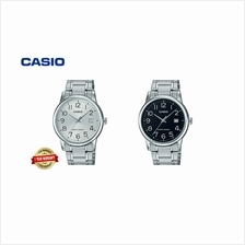100% CASIO ORIGINAL MTP-V002D-1B / MTP-V002D-7B MEN CASUAL WATCH