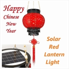 Solar Outdoor LED Chinese New Year CNY Red Lantern Light Tanglung