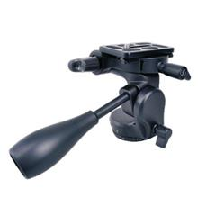 Tripod Video Fluid Ball Head with Quick Release Plate support 6kg 6012