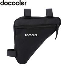 Docooler Triangle Bicycle Front Saddle Tube Frame Pouch Bag Holder