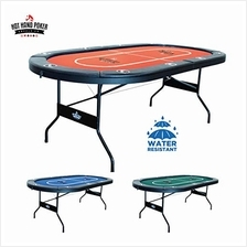 [Free shipping]Hot Hand Poker Supply Folding Poker Table for 10 Players with W