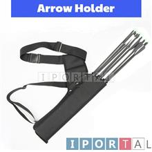Archery Holder Tube back/ Side Quiver for 20pcs Anak Panah
