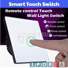 Wireless Switch with Touch / Remote / Smartphone Light/Fan Control