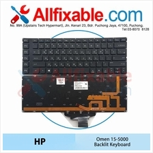 HP Omen 15-5000 5022TX 5024TX 5101NX 5106TX 5112TX Laptop Keyboard