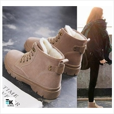 Winter Women Martin PU Boots with Velvet