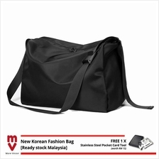 MV Bag Trendy Messenger Bag Black for Gym Travel Casual Sports Outfit