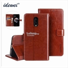 OnePlus 3 5 5T 6 6t 1+6T 1+5T 1+3 casing flip cover pu leather #idw