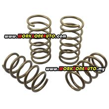 Perodua Viva 660 850 1000 Gold Sport Lowered Coil Spring Set 4 Pieces KSW