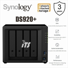 Synology DiskStation DS918+ 4-Bay Powerful NAS