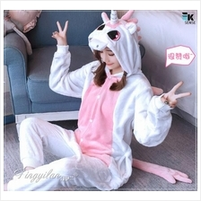 Cartoon Unicorn Totoro Pikachu Pyjamas Sleepwear Unisex Children Adult