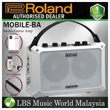 Roland MOBILE-BA 5W Battery Powered Stereo Guitar Amplifier With Effect Speake