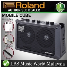 Roland MOBILE CUBE 5W Portable Battery Powered Stereo Amplifier With Effect Am