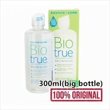 BIOTRUE SOLUTION 300ml (Big Size) Bausch & Lomb Multi Purpose Solution