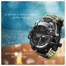 [From USA]vikano Survival Bracelet Watch Men & Women Emergency Survival W