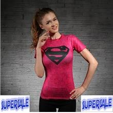 Marvel's Avengers Gym Tight Fitness Sport Compression Women T-Shirt