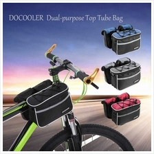 Docooler Detachable Bike Bicycle Cycle Front Frame Bag Front Tube Bag Pouch Pa