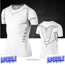 Basketball Clothes Tight Fit Compression Sports Running Cycling White