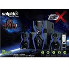 SALPIDO SPEAKER 2.1 G3X (RED/BLUE)