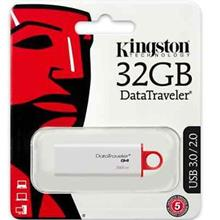 KINGSTON 32GB DATA TRAVELER G4 USB3.0 FLASH DRIVE (DTIG4/32GB) RED