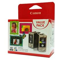 GENUINE CANON PG-40 + CL-41 COMBO VALUE PACK INK CARTRIDGE **NEW**SEA