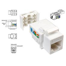 HIGH QUALITY RJ45 CAT6 KEYSTONE JACK (US02837)