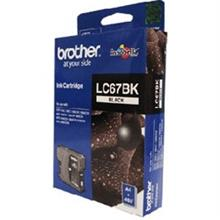 GENUINE BROTHER LC-67 BLACK INK CARTRIDGE **NEW**SEALED BOX