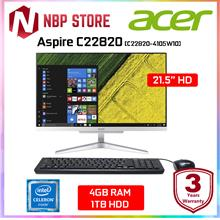 "Acer Aspire C22820-4105W10 21.5 "" AIO Desktop PC"