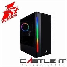 1st Player Rainbow Bullet Hunter H5 RGB Tempered Glass ATX Casing