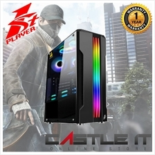 1st Player Rainbow R3-A RGB Tempered Glass ATX Gaming Casing