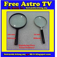 Kanta Pembesar Magnifying Glass School shop House office read paper RM
