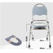 Potty Chair Foldable Toilet Chair Medical Chair Old Man Adult