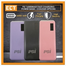 PSI 16000MAH Fast Charging Power Bank - Colour Option