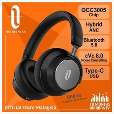 TaoTronics Upgraded BH046 Type-C Hybrid ANC Bluetooth Headphones