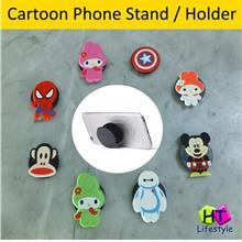 Cartoon Retractable Mobile Phone Stent Holder,Cable Winder