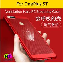 OnePlus 1+5T Ventilation Hole Hard PC Breathing Case
