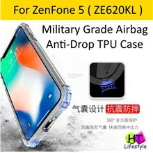 Asus ZenFone 5 ZE620KL Military Grade Shockproof Transparent TPU Case