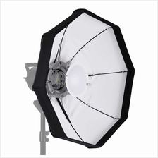 8-Pole 60cm White Foldable Beauty Dish Softbox with Bowens Mount for S