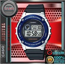 CASIO W-216H-2AV / W-216H-2A STANDARD DIGITAL WATCH 100% ORIGINAL
