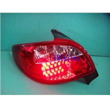 SONAR Peugeot 206 LED Tail Lamp [Clear/Red]