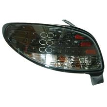 DEPO Peugeot 98 206 Tail Lamp Crystal LED Black (P206-RL02-U)