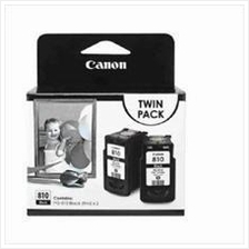 Canon PG-810 Twin Pack Black Ink (Genuine) 2770 2772 245 258 PG810 810