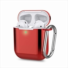 [From USA]Airpods Case Cover ZAHIUS Airpods Soft TPU Plated Protective Case Co